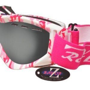 Rayzor-Masque-de-ski-Protection-UV-400-Verres-doubles-photochromiques-Rose-matcamouflage-0
