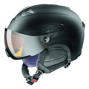 Uvex-HLMT-300-Visor-Casque-de-ski-Noir-Mat-Taille-60-61-0