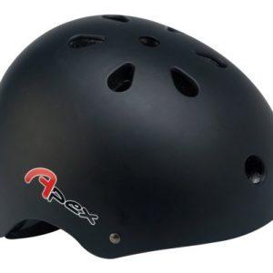 Apex-Casque-BMX-Noir-mat-54-58cm-0