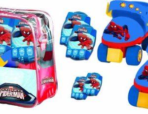 Mondo-18390-Vlo-et-Vhicule-pour-Enfant-Set-Roller-Skate-Protections-Ultimate-Spiderman-0