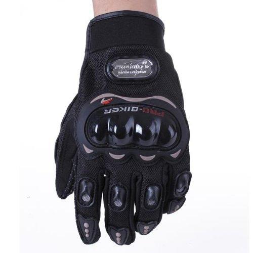 paire noir gants doigt complet protection l moto v lo sport femme homme moto gants de protection. Black Bedroom Furniture Sets. Home Design Ideas