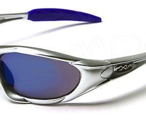 X-Loop-Lunettes-de-Soleil-Sport-Cyclisme-Ski-Conduite-Moto-Plage-Mod-1002-Argent-Bleu-Spectrum-Taille-Unique-Adulte-Protection-100-UV400-0