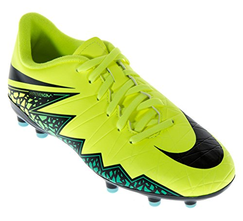 brand new 36571 724f5 Nike Jr Hypervenom Phelon II FG, Chaussures de Football amricain Mixte  Enfant