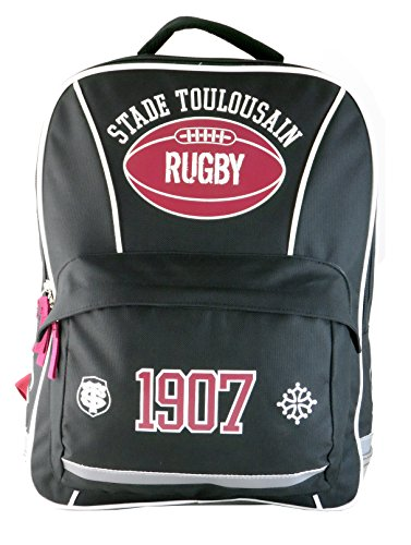 sac dos scolaire toulouse collection officielle stade toulousain rugby ride and slide. Black Bedroom Furniture Sets. Home Design Ideas