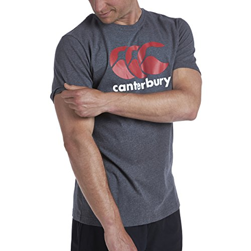 Canterbury-CCC-Logo-T-Shirt-Homme-CharcoalFlamme-0-2