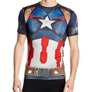 Under-armour-chaussettes-de-compression-shirt-captain-america-0