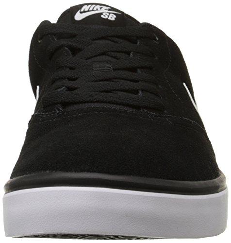 ddfd8c7252741 Nike SB Check CNVS Chaussures de Skate Homme Blanco Black White 385 ...