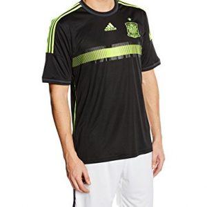 Adidas-FEF-A-JSY–T-shirt-pour-homme-noirjaune-0