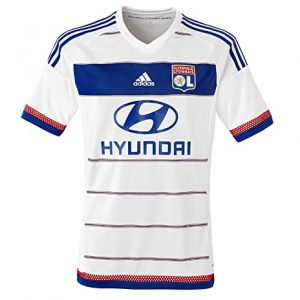 adidas-Olympique-Lyonnais-Domicile-Replica-Maillot-manches-courtes-Homme-0