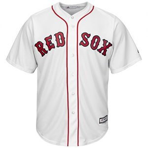 Majestic-MLB-Boston-Red-Sox-Home-Maillot-de-baseball-design-Cool-Base-0