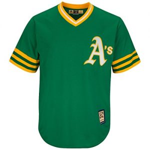 Oakland-Athletics-Cooperstown-Majestic-Cool-Base-Retro-Green-Jersey-Maillot-0