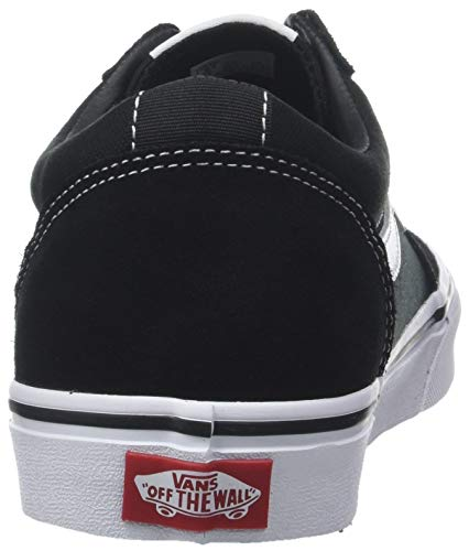 vans ward canvas sneakers basses